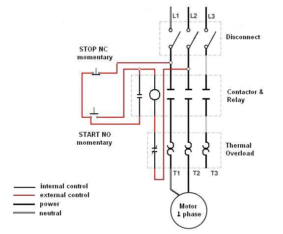Motor Starter Wiring Diagrams