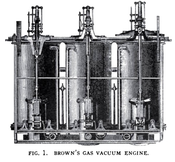 Brown's Gas Vacuum Engine