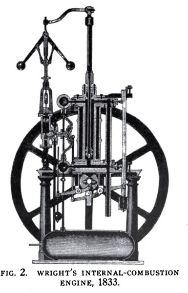 Wright's Internal Combustion Engine