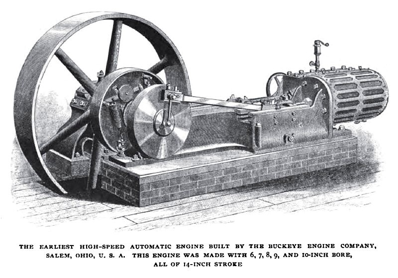 Buckeye High Speed Engine