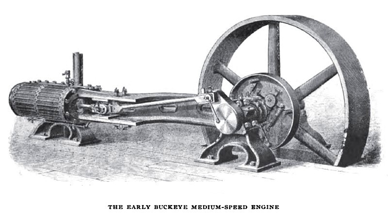 Buckeye Medium Speed Engine