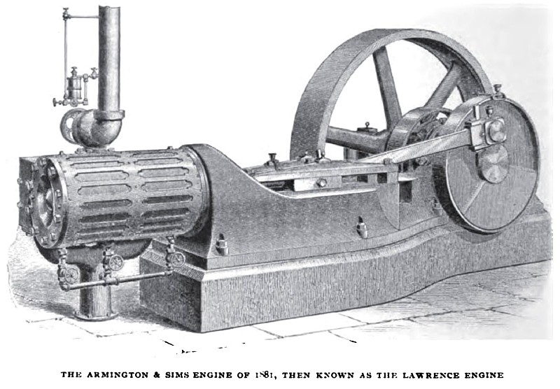 1881 Armington & Sims Engine