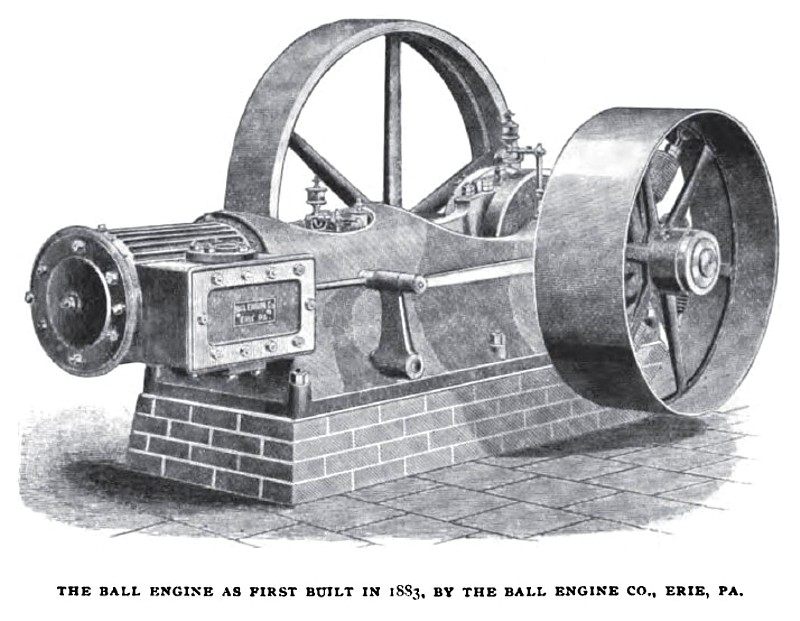 1883 Ball Engine