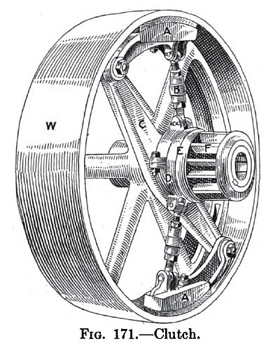Traction Engine Clutch
