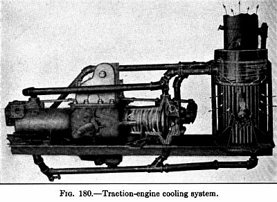 Traction Engine Cooling System