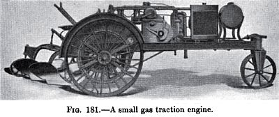 Small Gas Traction Engine