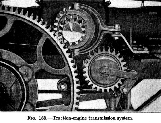 Traction Engine Transmission System