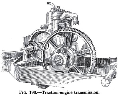 Traction Engine Transmission