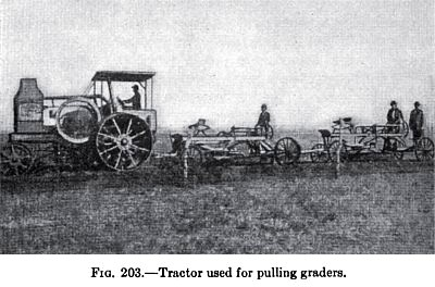 Tractor Used for Pulling Graders