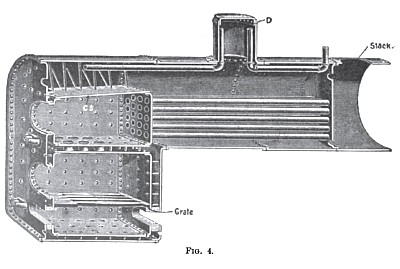 Steam Traction Engine Boiler Section