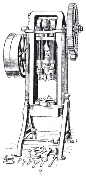 Double Action Power Drawing Press