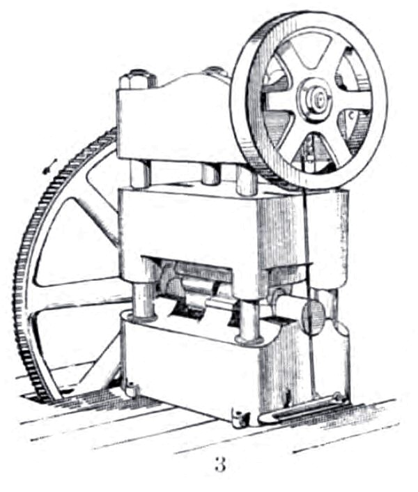 Bottom-Slide Press