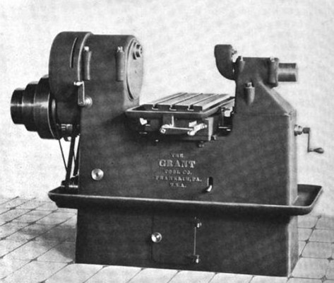 Fig 3, Grant Milling Machine