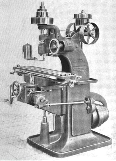 Fig. 8, Vertical Spindle Milling Machine