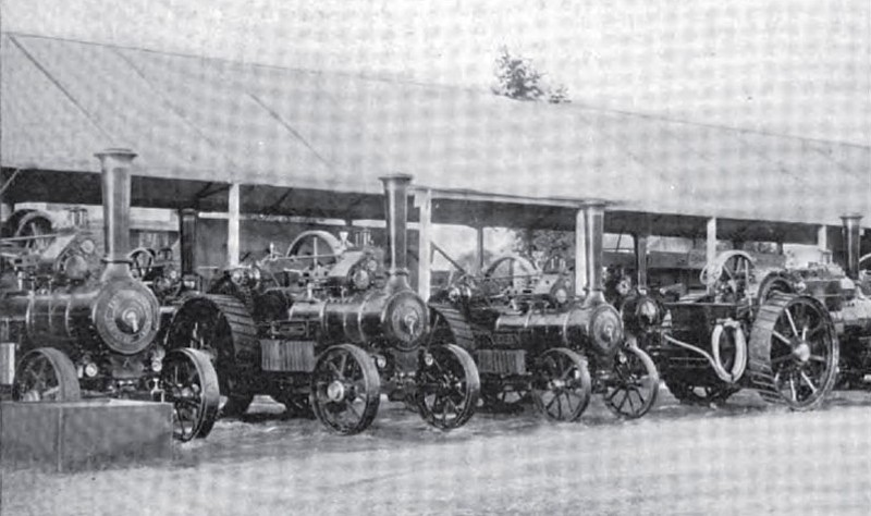 Modern English Traction Engines