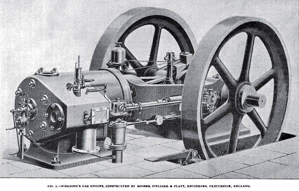 Fig. 5—Fielding's Gas Engine