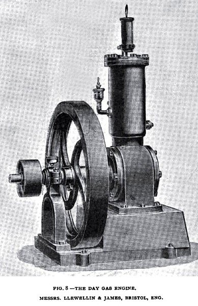Fig. 8— The Day Gas Engine