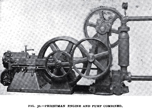 Fig. 30— The English Priestman Engine & Pump Combined