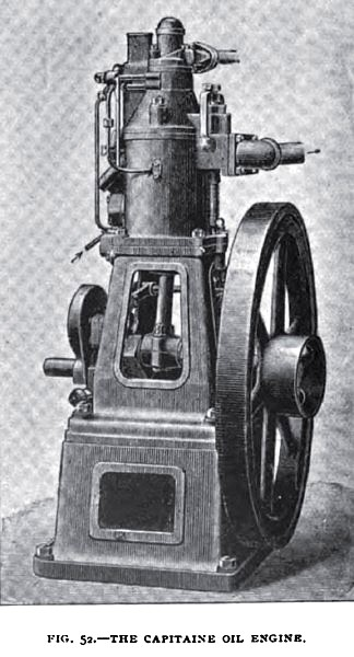 Fig. 52— Captaine Oil Engine
