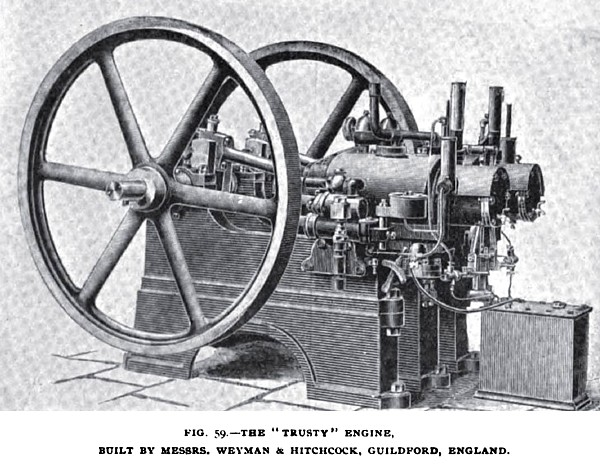 "Fig. 59—The ""Trusty"" Engine"