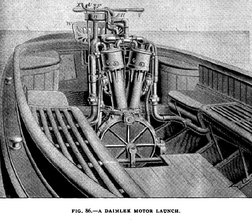 Fig. 86— Daimler Motor Launch