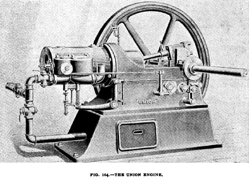 Fig. 104— Union Gas Engine