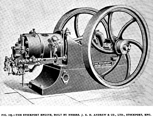 Fig. 105— Stockport Gas Engine