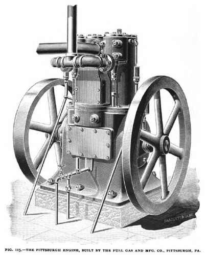 Fig. 115— The Pittsburgh Gas Engine