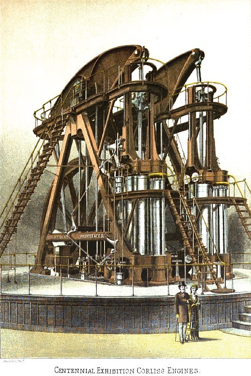 Centennial Exhibition Corliss Steam Engine