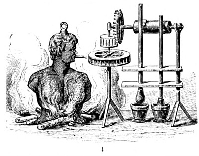 Branca's Steam Apparatus