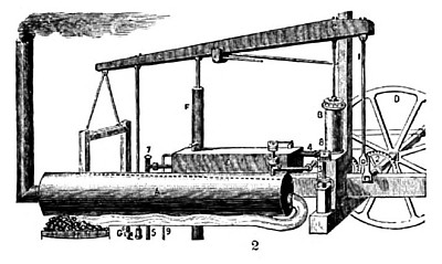 Evans' Columbian Steam Engine
