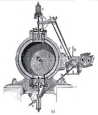 Sulzer Poppet Valve and Gear