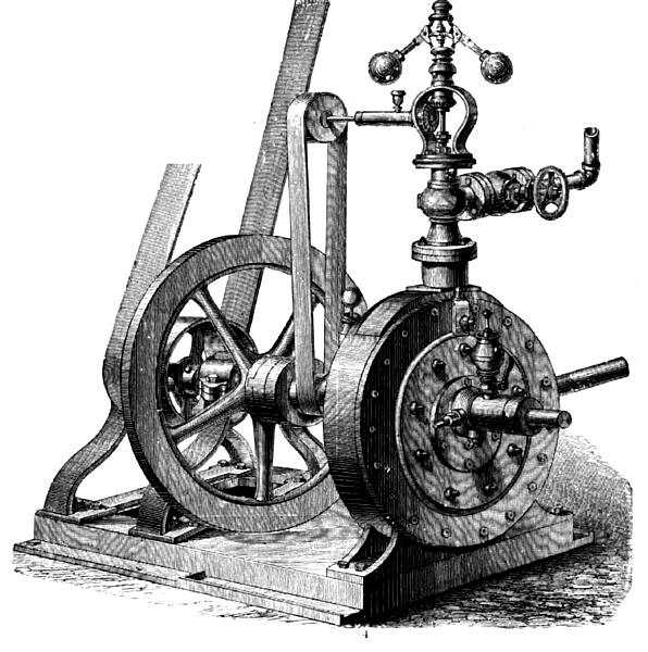 Root's Oscillating Engine