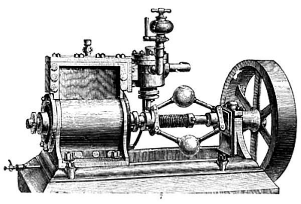 Hall's Rotary Engine