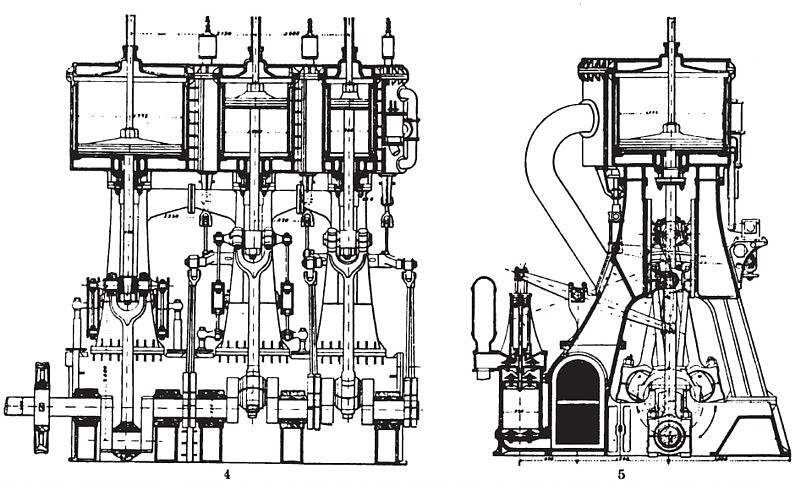 1800 H. P. Triple-Expansion Marine Steam Engine