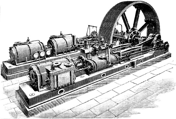 Disconnective Non-Condensing Steam Engine