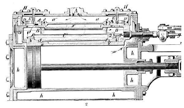 The Buckeye Steam Engine (Cylinder Section)