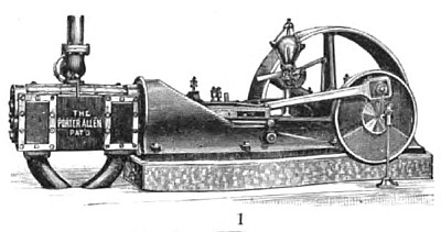 The Porter-Allen Steam Engine