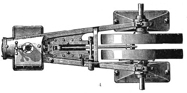 The Straight-line Steam Engine (Top View)
