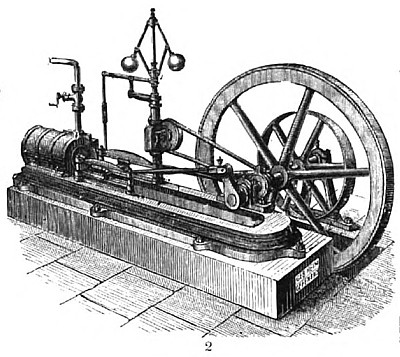Medium Cylinder Steam Engine