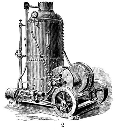 Hoisting Engine with Boiler