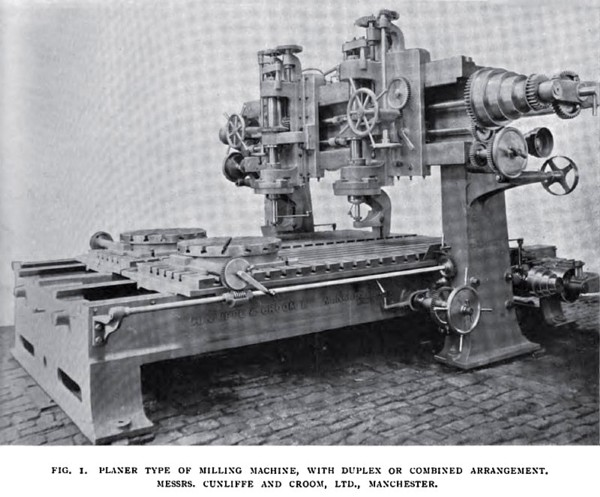 Planer Type of Milling Machine