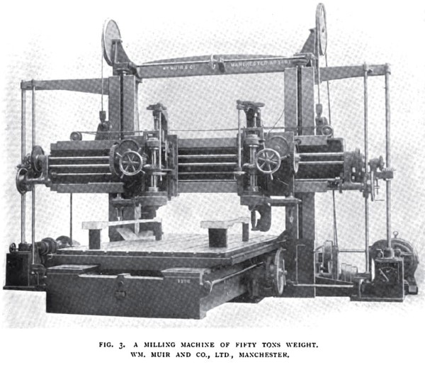 50 Ton Milling Machine