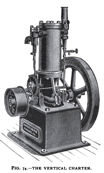 The Vertical Charter Gas Engine