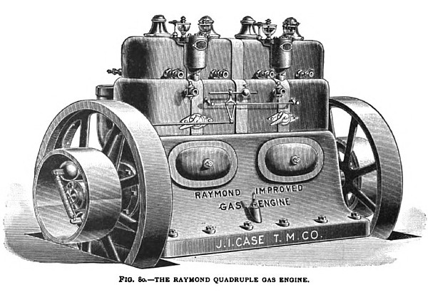 The Raymond Quadruple Gas Engine