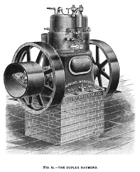 The Raymond Duplex Gas Engine