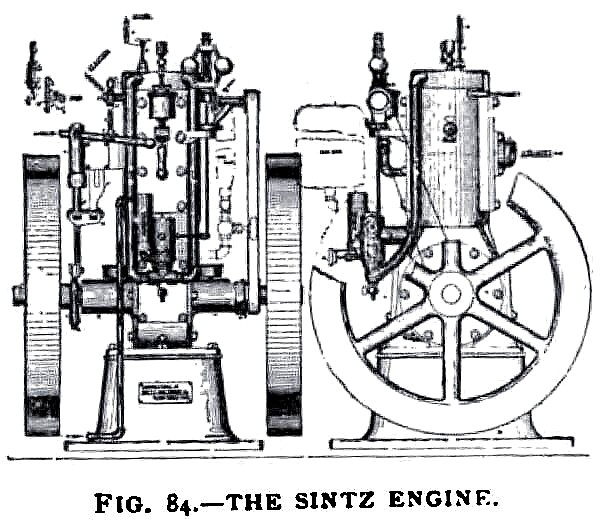 The Sintz Gas Engine