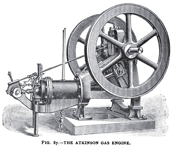 The Atkinson Gas Engine