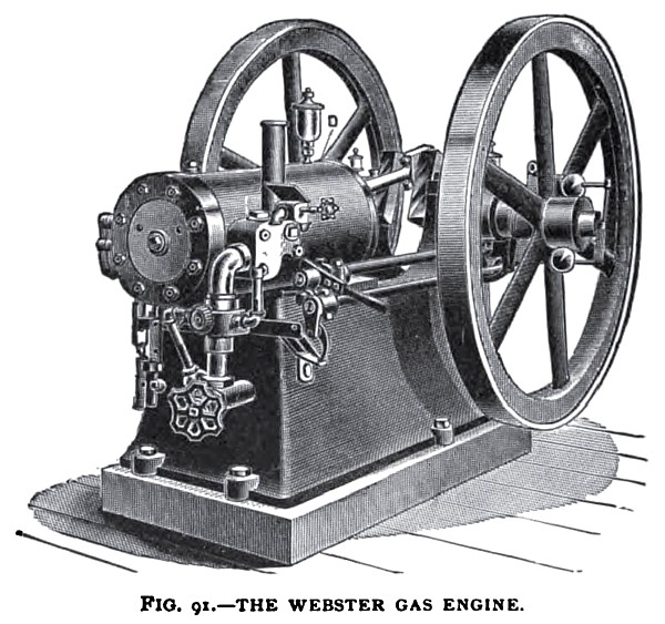 The Webster Gas Engine
