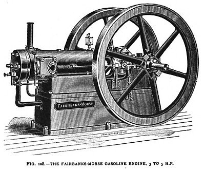 The Fairbanks-Morse Gas Engine, 3 to 5 H. P.